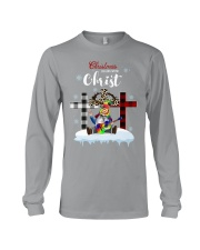 Christmas begins with Christ Long Sleeve Tee tile
