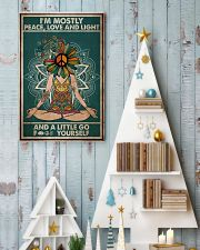I'm mostly peace love and light 11x17 Poster lifestyle-holiday-poster-2