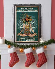 I'm mostly peace love and light 11x17 Poster lifestyle-holiday-poster-4