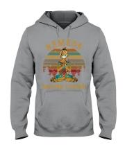 ao mau den Hooded Sweatshirt tile