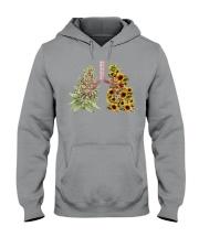 Weed and Sunflower Hooded Sweatshirt tile