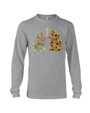 Weed and Sunflower Long Sleeve Tee thumbnail