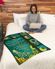 """Limited edition Small Fleece Blanket - 30"""" x 40"""" aos-coral-fleece-blanket-30x40-lifestyle-front-08"""