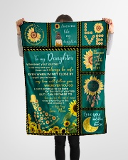 """Limited edition Small Fleece Blanket - 30"""" x 40"""" aos-coral-fleece-blanket-30x40-lifestyle-front-14"""