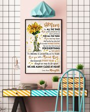 Mom for all the times 11x17 Poster lifestyle-poster-6