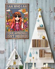 I am who I am your approval isn't needed 11x17 Poster lifestyle-holiday-poster-2
