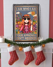 I am who I am your approval isn't needed 11x17 Poster lifestyle-holiday-poster-4