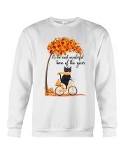 Autumn Cats Crewneck Sweatshirt thumbnail
