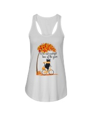 Autumn Cats Ladies Flowy Tank thumbnail
