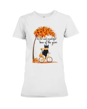 Autumn Cats Premium Fit Ladies Tee thumbnail