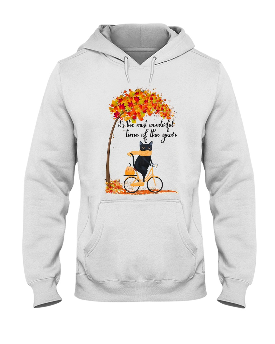 Autumn Cats Hooded Sweatshirt