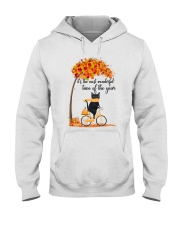 Autumn Cats Hooded Sweatshirt front