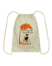 Autumn Cats Drawstring Bag thumbnail
