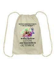 OLD WOMAN 10 Drawstring Bag thumbnail