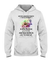 OLD WOMAN 10 Hooded Sweatshirt thumbnail