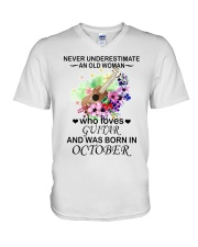 OLD WOMAN 10 V-Neck T-Shirt thumbnail