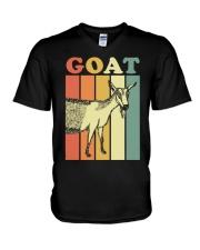 Goat Wb8f0 Goat Shirt Farmer Shirt V-Neck T-Shirt thumbnail