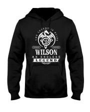 WILSON Tshirt Hooded Sweatshirt front