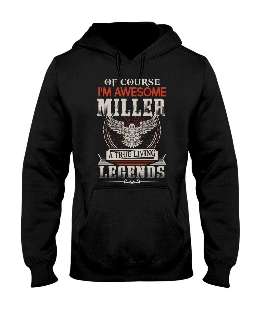 MILLER Hooded Sweatshirt