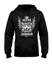 JOHNSON Hooded Sweatshirt front