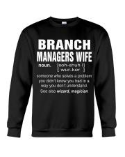 HOODIE BRANCH MANAGERS WIFE Crewneck Sweatshirt thumbnail