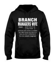 HOODIE BRANCH MANAGERS WIFE Hooded Sweatshirt thumbnail