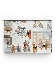 Home Is Where Airedale Terrier Is Accessory Pouch - Standard thumbnail