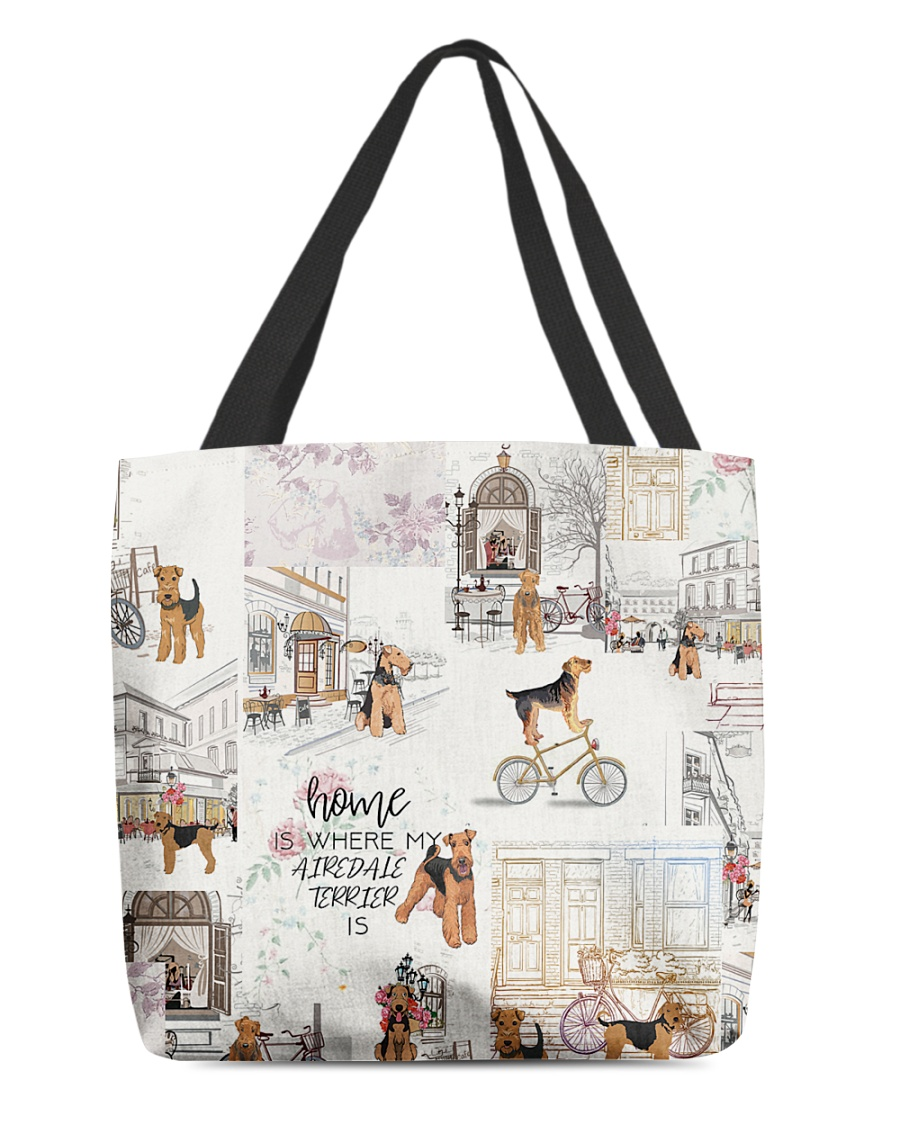 Home Is Where Airedale Terrier Is All-over Tote
