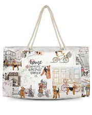 Home Is Where Airedale Terrier Is Weekender Tote thumbnail