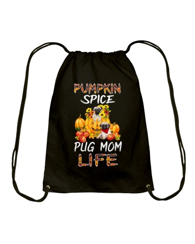 pumpkin spice pug mom life