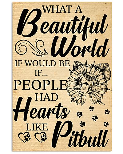 what a beautiful world if would be if people had