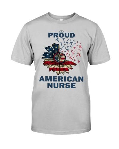 proud american nurse