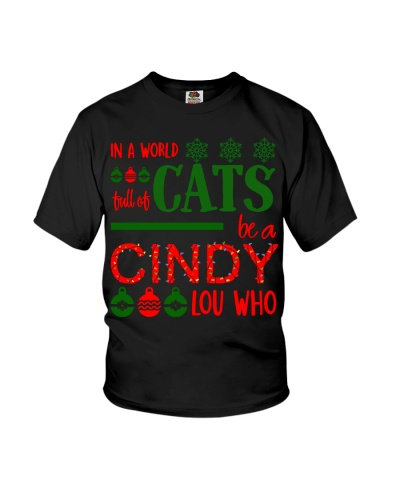 in a world turll of cats be a cindy lou who