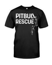 PitBull REscue Classic T-Shirt front