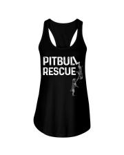 PitBull REscue Ladies Flowy Tank thumbnail