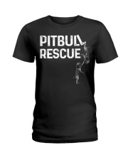 PitBull REscue Ladies T-Shirt thumbnail