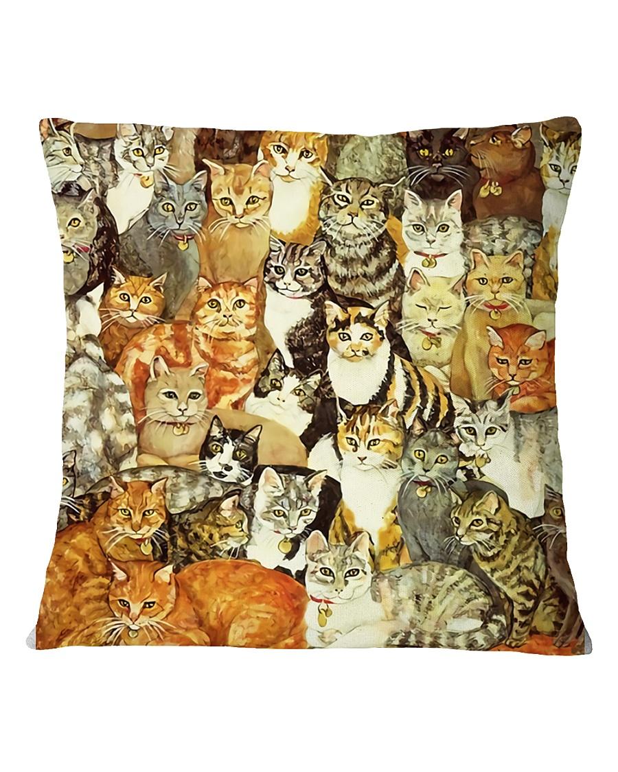 cat Square Pillowcase