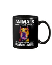 animals don't have a voice so you'll never stop Mug thumbnail