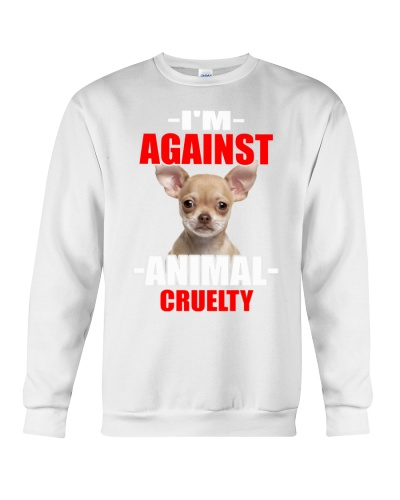 i'm against animal cruelty