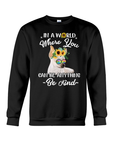 in a world where you can be anthing be kind