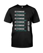 GO RUNNING Classic T-Shirt thumbnail