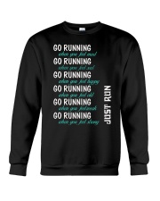 GO RUNNING Crewneck Sweatshirt tile