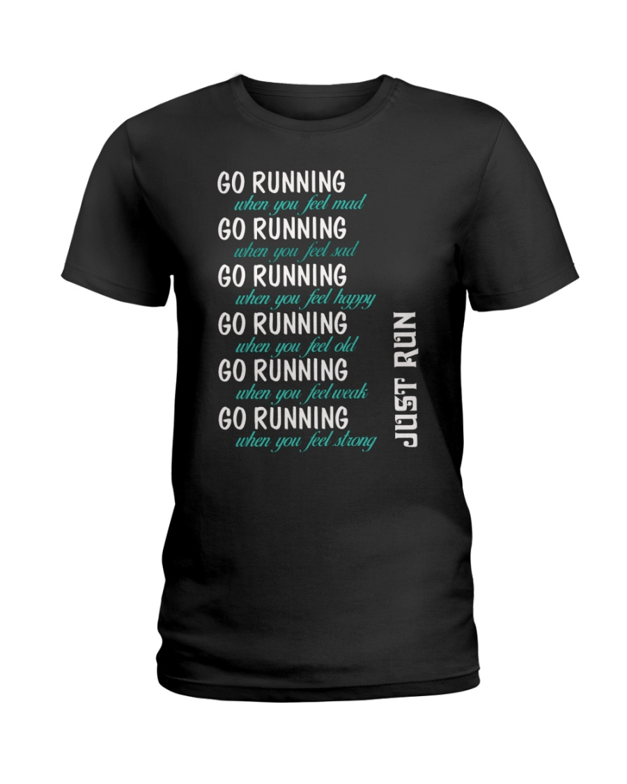 GO RUNNING Ladies T-Shirt