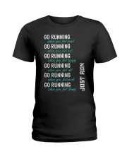 GO RUNNING Ladies T-Shirt front