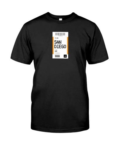 City T-shirt San Diego