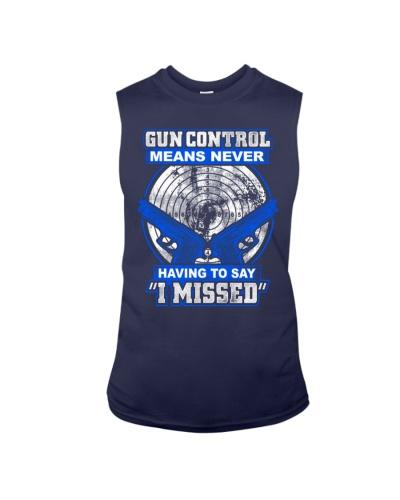 Gun Control Never Missed