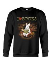 I LOVE BOOKS Crewneck Sweatshirt thumbnail