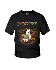 I LOVE BOOKS Youth T-Shirt thumbnail