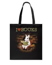 I LOVE BOOKS Tote Bag thumbnail