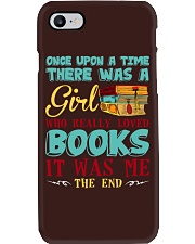 THERE WAS A GIRL Phone Case thumbnail
